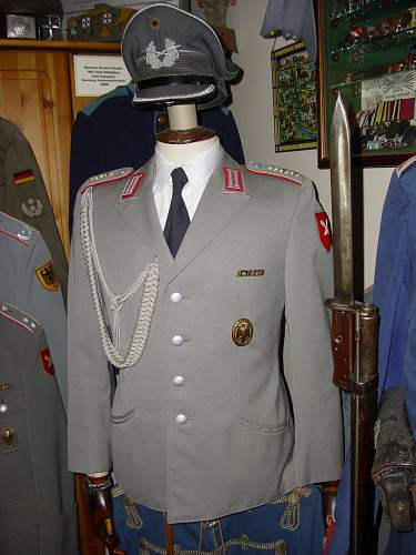 Named Army Officers uniforms.