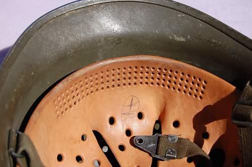 West German Steel Helmet