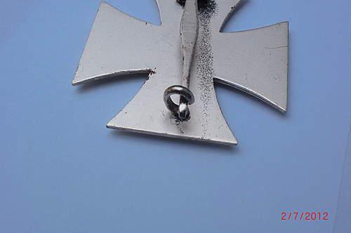 57er Eisernes Kreuz 1. klasse u/m Deumer