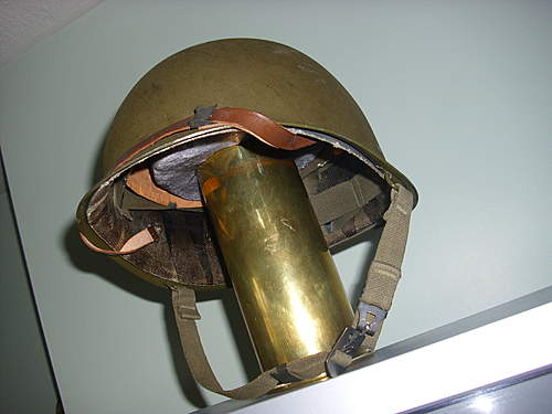 "The Holy Grail...an M56 ""Zweiteilige"" steel helmet."