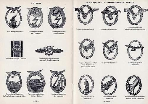 A catalogue of 57' awards.....