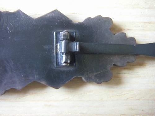 Open or closed hinge block ? 57er's