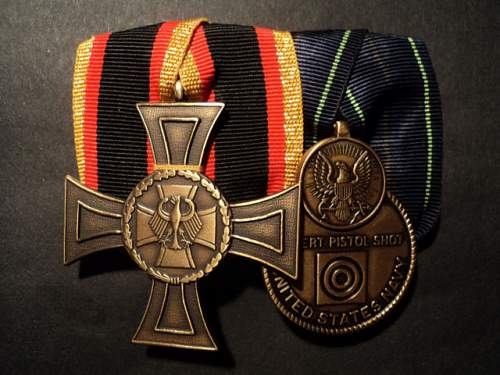 Bundeswehr Medal bar........