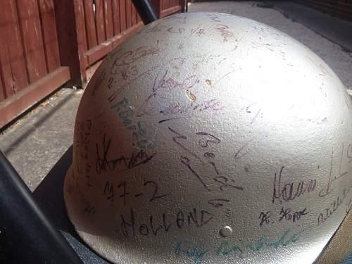 BRD M1A1 m60 helmet