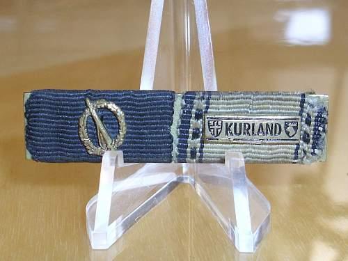 """Kurland"" 57er ribbon bar........"