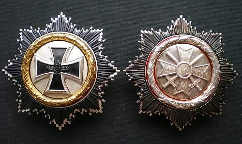 1957 Deutsches Kreuz in Silber