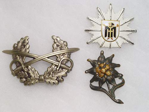 Can anyone tell me about these three items?