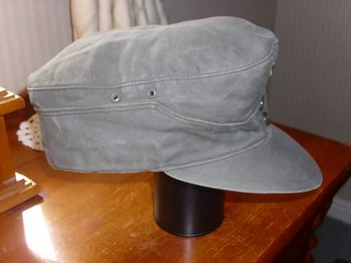 BW Moleskin M43 style cap........
