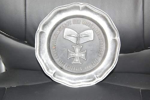 OdR commemorative plates..............