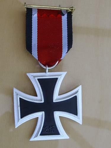 Late 57er Ost medal..............