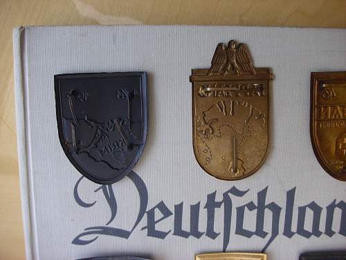 A collection of 57er Shields..............