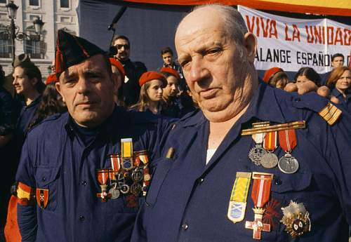 Click image for larger version.  Name:Veterans from the Spanish Blue Division.jpg Views:3872 Size:114.0 KB ID:595453