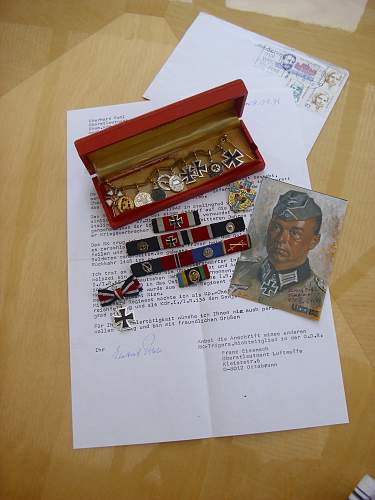 57er Nachless of RKT E. Pohl, a Stalingrad survivor.