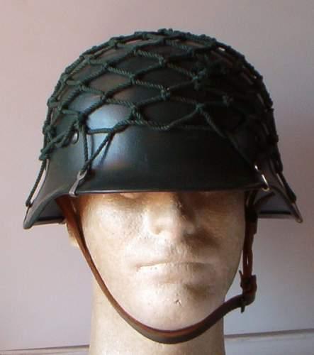 West German Police helmet M40/52