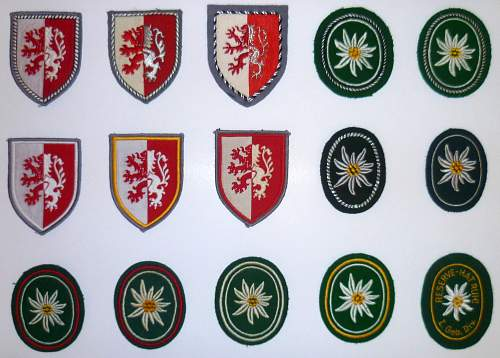 Bundeswehr caps, cap badges and other collectables