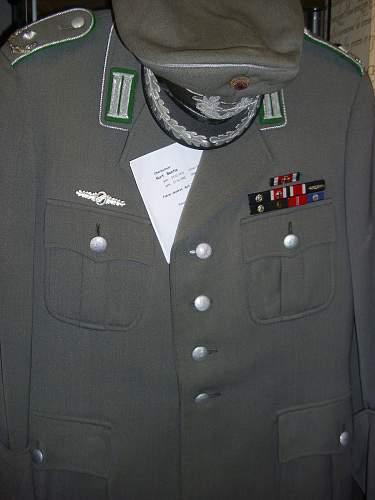 BW Knights Cross holders uniform..................