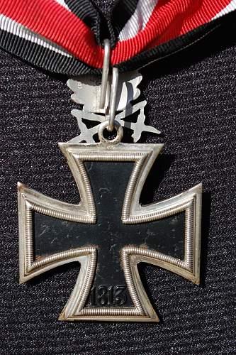 1957 Knight's Cross w/ OLS