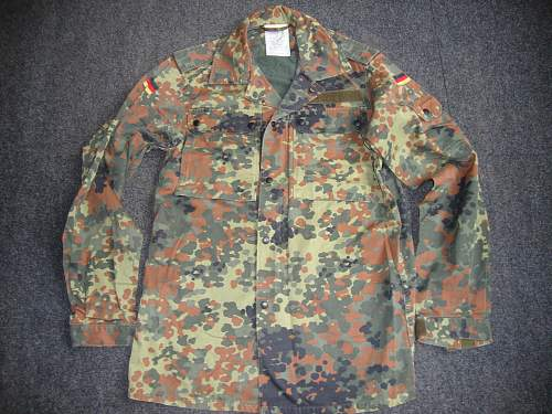 My small contemporary Bundeswehr collection.