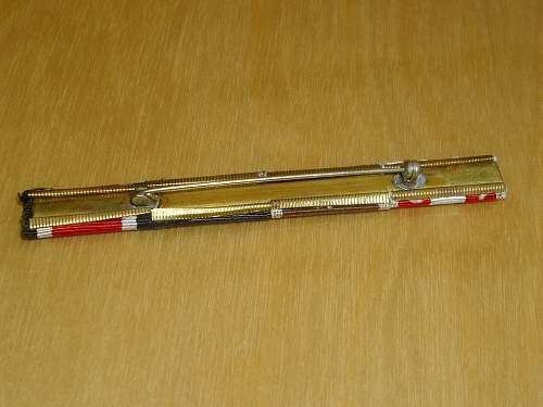 57er Firemans Afrika ribbon bar.............