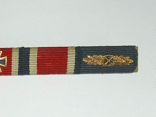 57er ribbon bar...named !