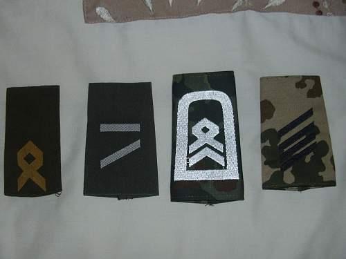 Bundeswehr ranks.