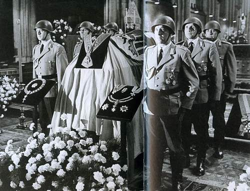 Click image for larger version.  Name:Honor Guard for the burial of Konrad Adenauer, 1967.jpg Views:360 Size:136.2 KB ID:692464