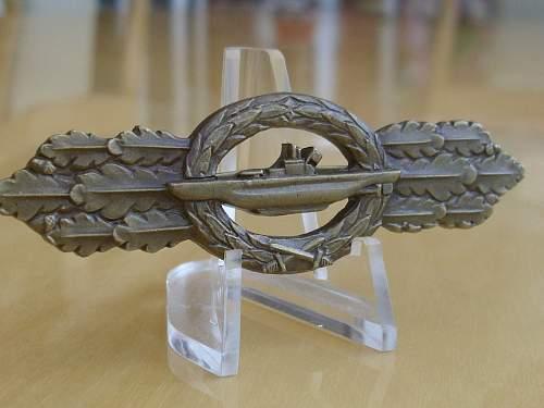 57er Bronze U-Boat combat clasp.................
