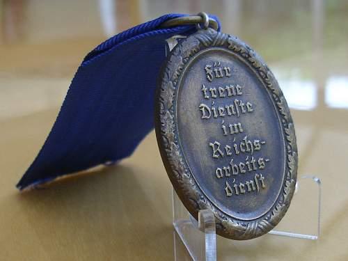 57er Womans Bronze class RAD medal..............