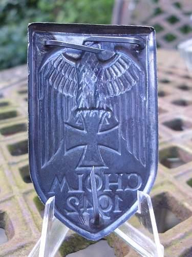 57er Cholm shield....................