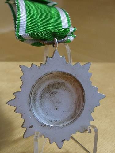 Post war Ostvolk Medal 2nd Class in Silver........