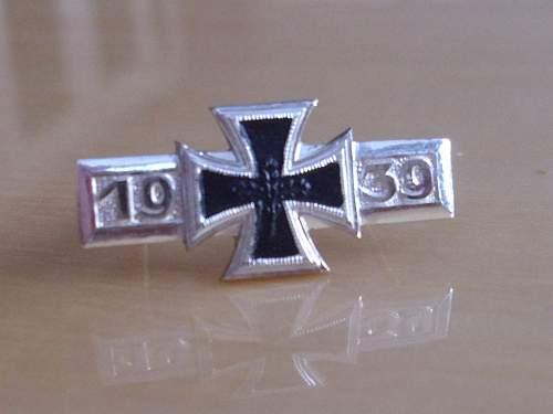 57er Deumer EK II Spange...................