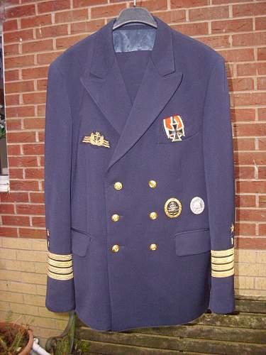 """Bundesmarine """"Kapitan zur see"""" uniform..........."""