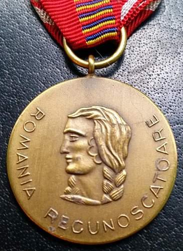 "Post war ""Crusade Against Communism"" medal........"