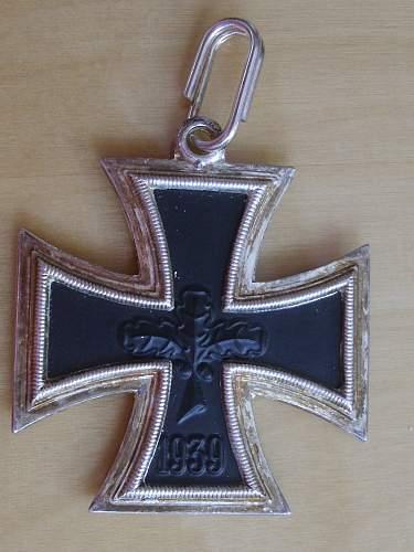 "Fake 1957 Knights Cross ""The Morigi Fake""."