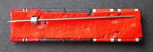 New 1957er ribbon bar