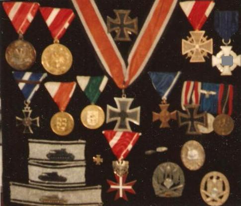 Post war Tank destruction badges........