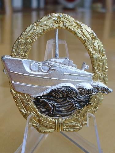 57er S-Boat badge.................