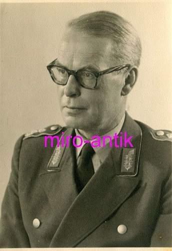 RKT Generalmajor Gottfried Weber