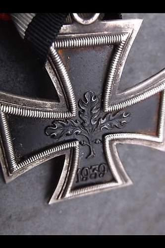 Knight Cross RK 1939 - 57 type.