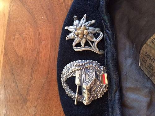 Picked up this German beret. Anyone tell me about it