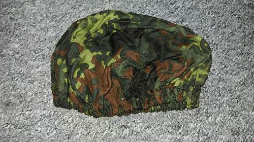 flecktarn helmet cover (pilots??)