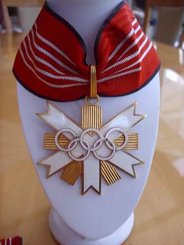 57er 1936 Olympia 1st Class award.................