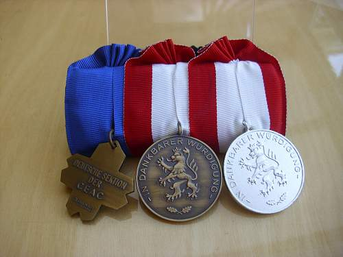 WW2 veterans VDK Medal bar......