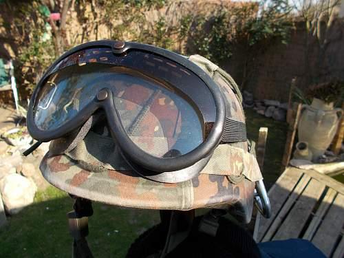 bundeswehr dust goggles