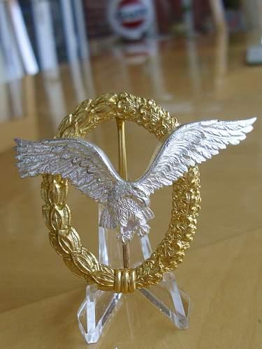 57er LW Pilot/Observer badge...............