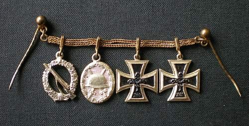 Various 1957er miniatures