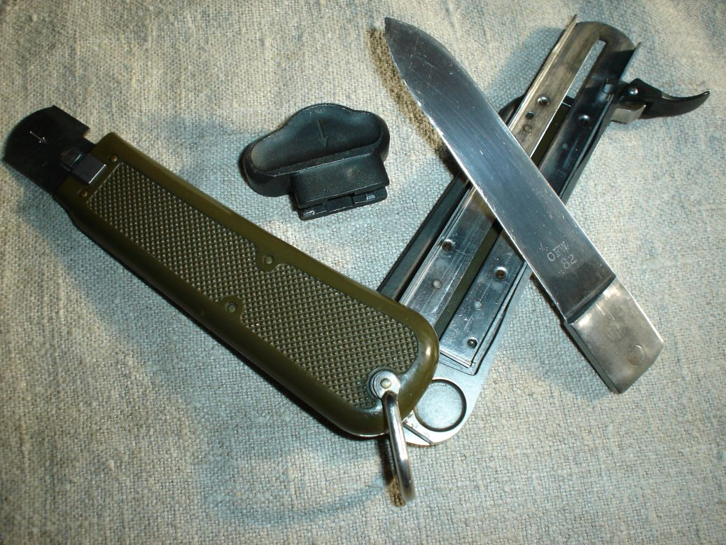 German Post War Gravity Knife