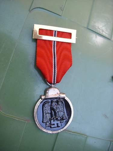 Blue Division Vets awards....................