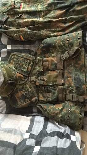Bundeswehr Combat Loadout + System 95 Webbing
