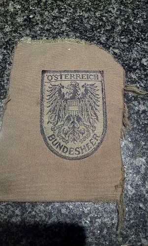 The Bundesheer, the modern Austrian Army.
